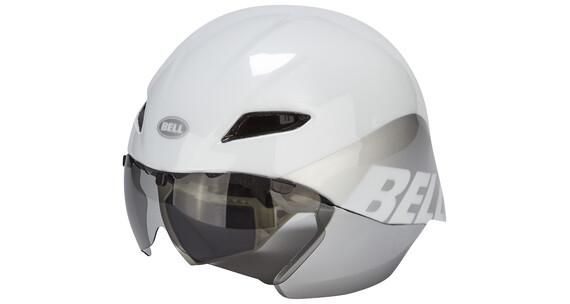 Bell Javelin kypärä , valkoinen/hopea